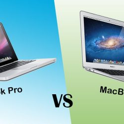 Verschil tussen de MacBook Pro en MacBook Air