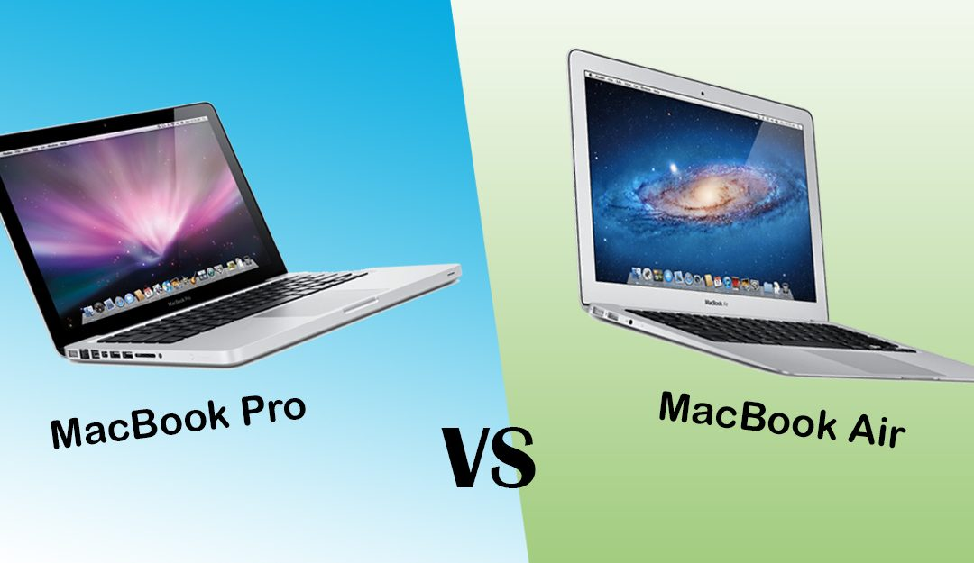 verschil tussen de macbook pro en macbook air